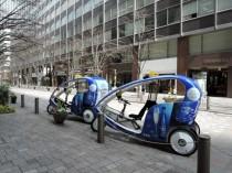 宝酒造さん協賛の『アースデイ東京2014仕様のベロタクシー』
