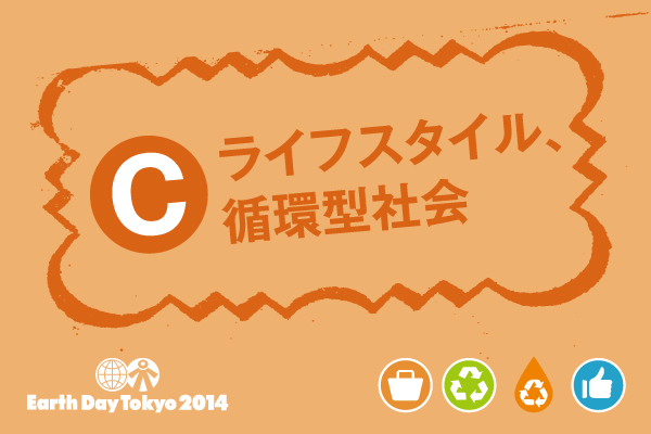 【C】ライフスタイル、循環型社会の出店者リスト&レイアウト