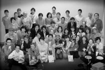 打ち上げパーティーで『アースデイ東京2014お疲れ様!』