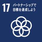 SDGs目標.17 パートナーシップで目標を達成しよう