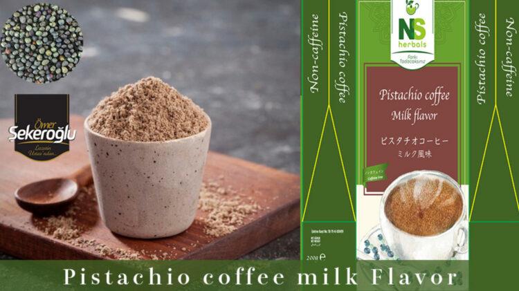 身体に良い【ノンカフェインピスタチオコーヒー】を広めトルコの雇用創出に繋げたい